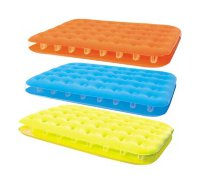 Надувной матрас 137х191х22см Fashion-Flocked Air Mattress Double, BestWay 67389
